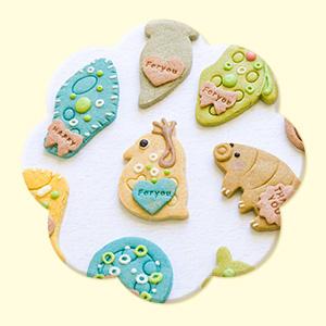 微生物クッキー