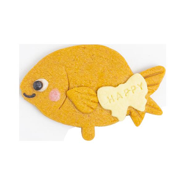 アクアクッキー・金魚