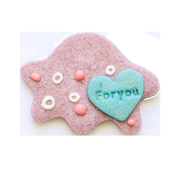微生物クッキー・アメーバ