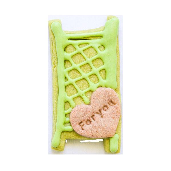 微生物クッキー・アオミドロ