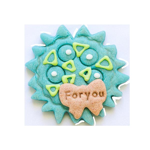 微生物クッキー・クンショウモ