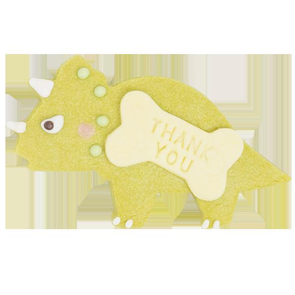 恐竜クッキー・トリケラトプス
