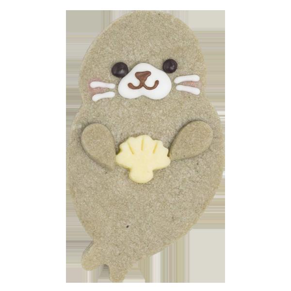 マリンクッキー・あざらし(ごま味)