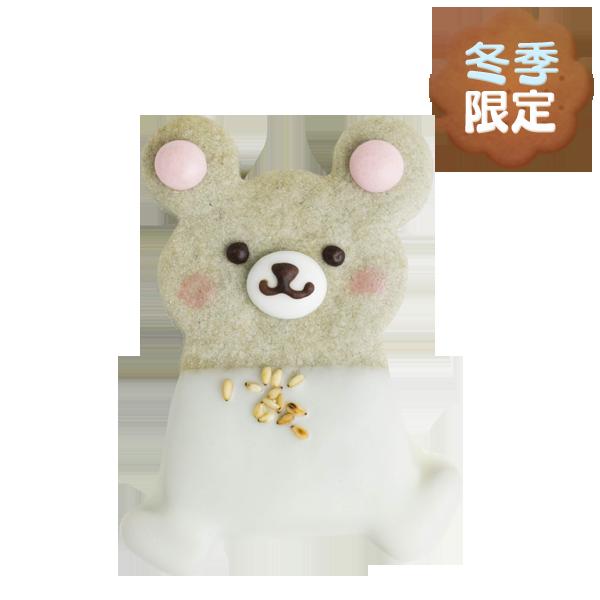 森の動物クッキー・ネズミ