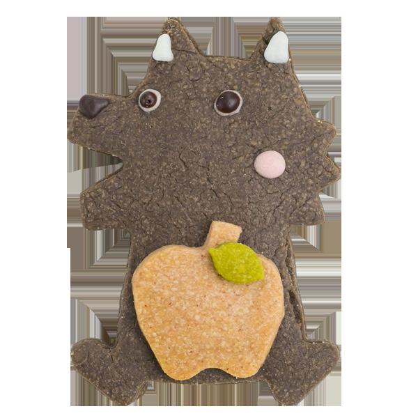 森の動物クッキー・オオカミ