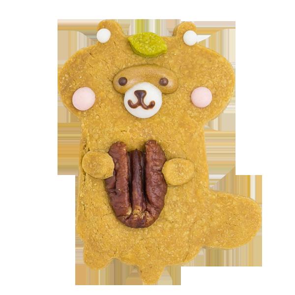 森の動物クッキー・タヌキ