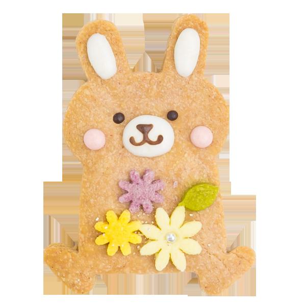 森の動物クッキー・ウサギ