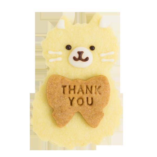 ねこちゃんクッキー