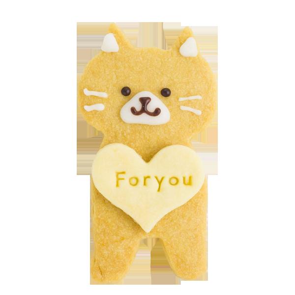 ネコちゃんクッキー