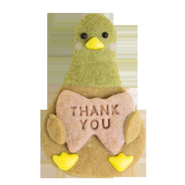 カモ(とりさんクッキー)